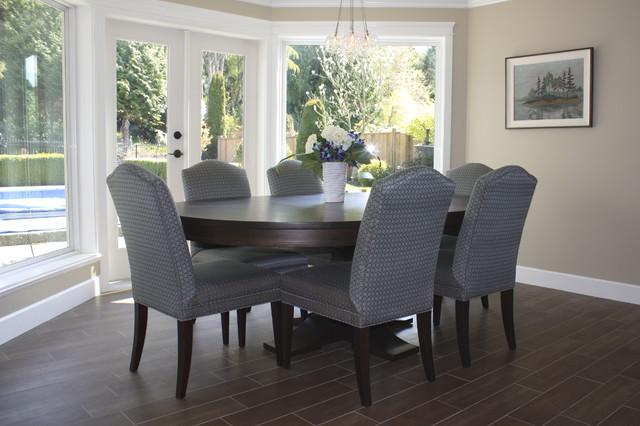 Tsawwassen Renovation contemporary-dining-room