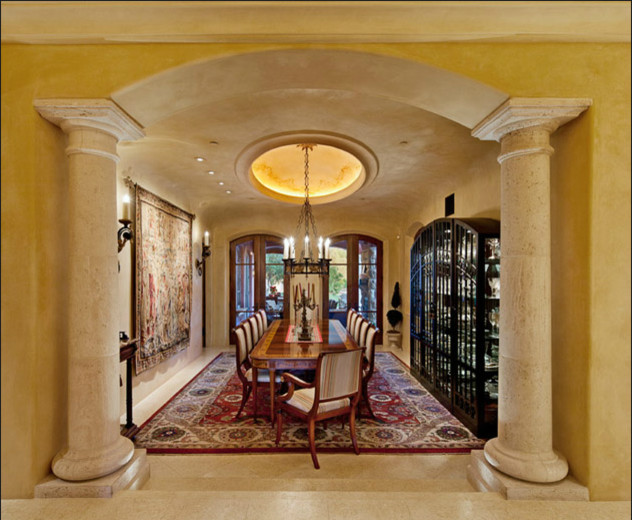 tuscan dining room traditional dining room san francisco by