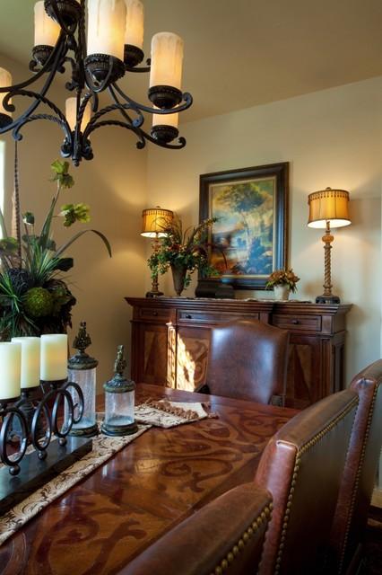 tuscan elegance dining room