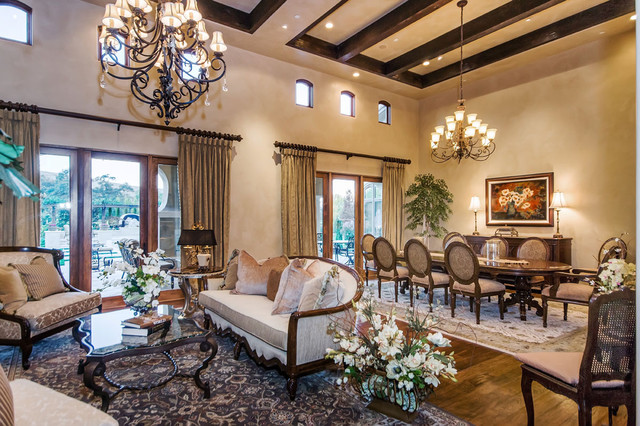 Tuscan Estate Mediterranean Dining Room