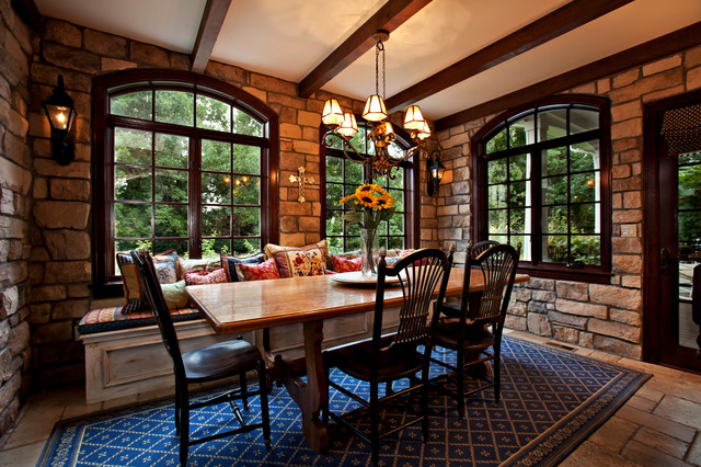 Tuscan Greenwood Village traditional-dining-room