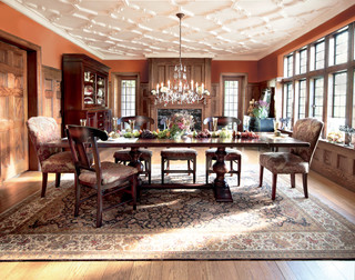 Tuscany Dining Table Eclectic Dining Room Cleveland