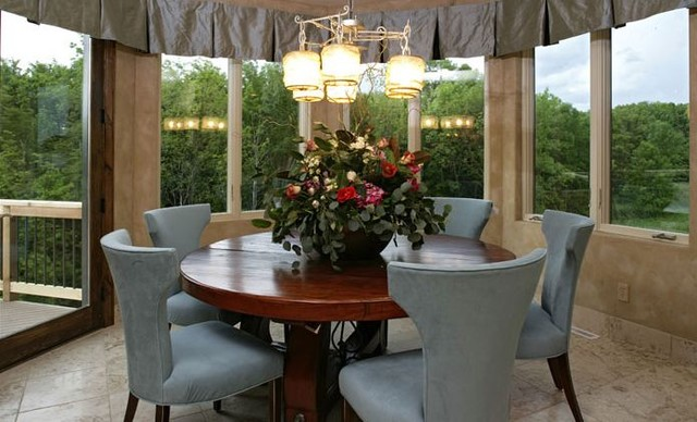 Tuscany Inspiration Traditional Dining Room