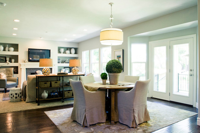 Tuscany Village Model Home traditional-dining-room