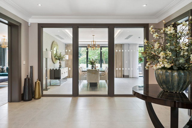 Two Newly Built Luxury Family Homes Reigate Contemporary