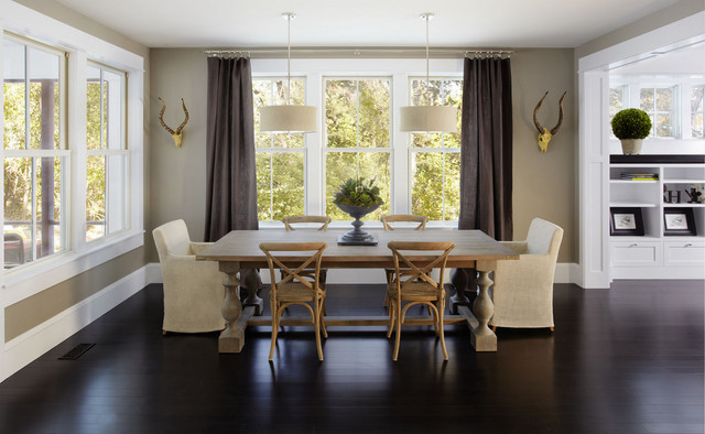 Tyrol Hills Residence contemporary dining room