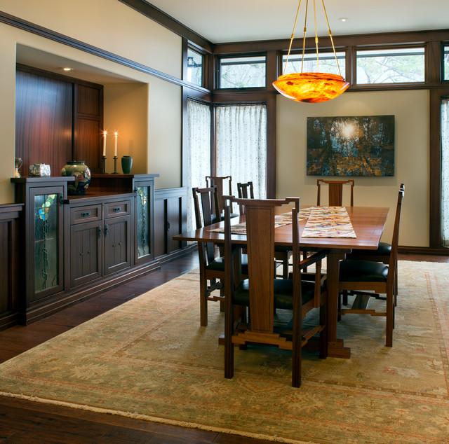 Ultimate Bungalow Craftsman-dining-room