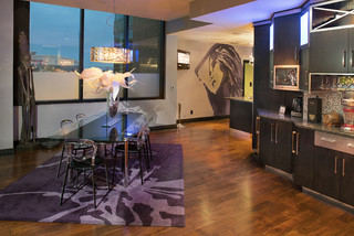 My Houzz: Modern Finishes in a Downtown Louisville Condo