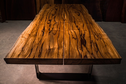 Just Finished Live Edge Wood Slab Table With No Home