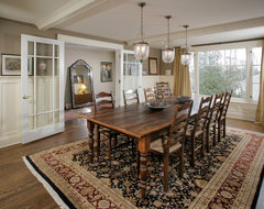 Union Hill Residence traditional-dining-room