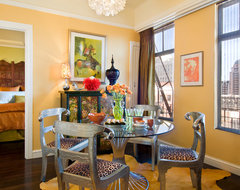 Union Square West eclectic-dining-room