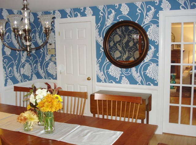 Updated dining room traditional dining room portland for Update traditional dining room