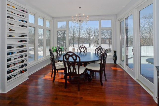 Updated home traditional dining room minneapolis for Update traditional dining room