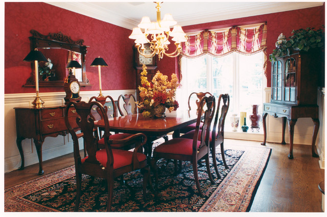 Updated tudor traditional dining room chicago by for Updating a traditional dining room