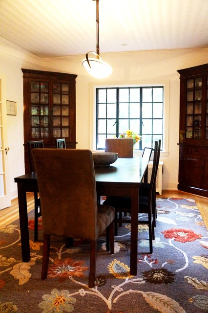 Updating an albert kahn designed home traditional for Updating a traditional dining room