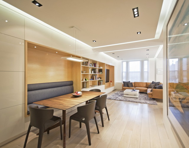 Upper West Side Combo Modern Dining Room