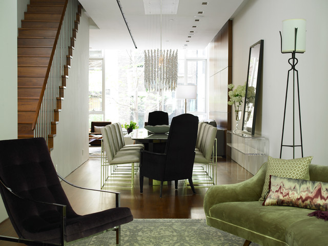 Upper West Side Residence Contemporary Dining Room