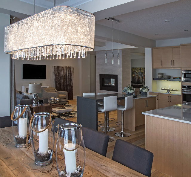 Upper Windermere  Premier - The Modena Show Home contemporary-dining-room