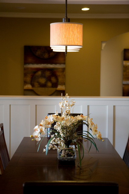 Upscale Arts Amp Crafts Inspired Home Traditional Dining