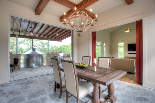Urban Farm House - Farmhouse - Dining Room - austin - by Joubert Design Build