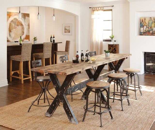 Modern Industrial Dining Room: Urban Industrial