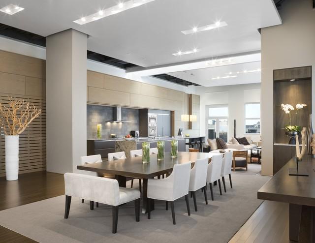 Urban Living XXL Contemporary Dining Room Boston By Ruhl Walker Archi