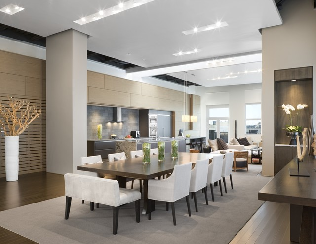Urban Living XXL - Contemporary - Dining Room - Boston - by Ruhl ...