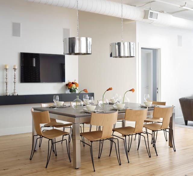 Modern Contemporary Urban Design Kitchen Room Dining