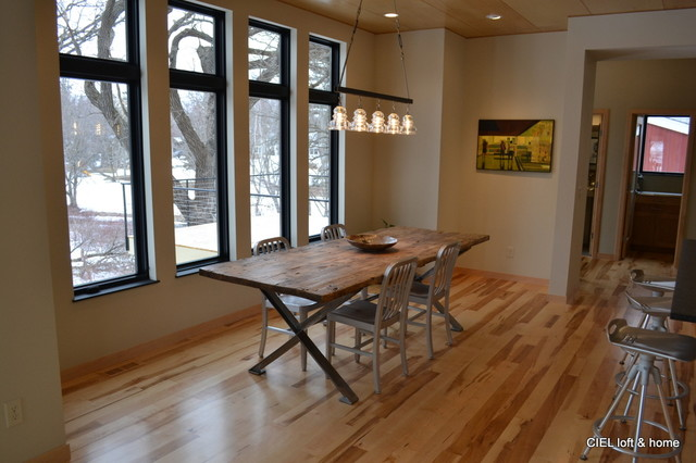 Urban Loft Single Family House - Industrial - Dining Room ...