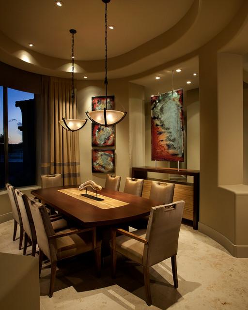 Modern Contemporary Urban Design Kitchen Room Dining: Contemporary