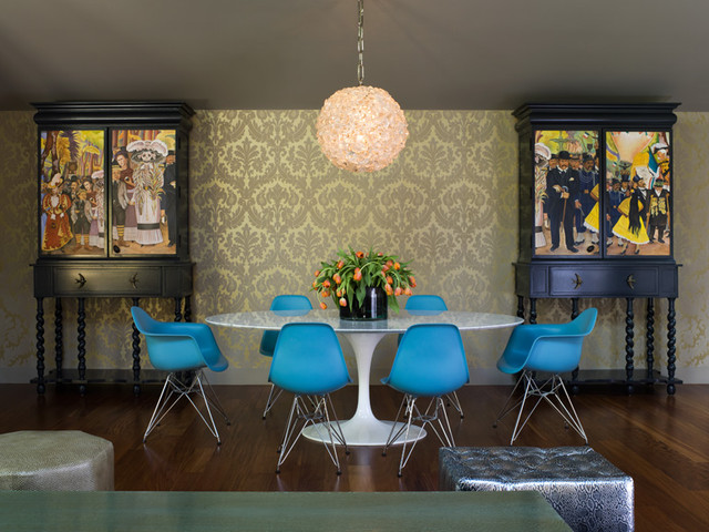 Urban Ranch   Eclectic   Dining Room   San Francisco   By Applegate Tran  Interiors