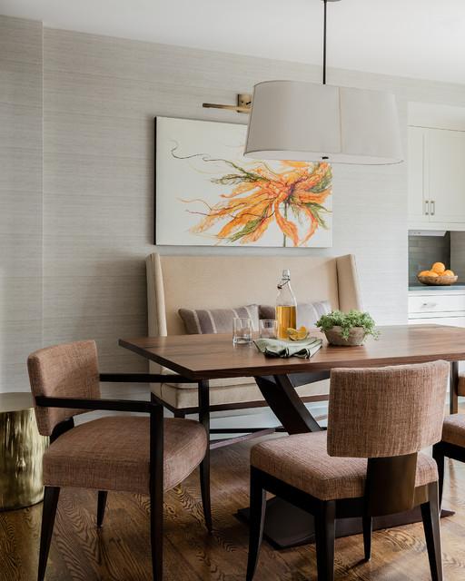 Transitional Dining Room: Urban Sophistication