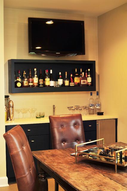 Urban Transitional Residence transitional-dining-room