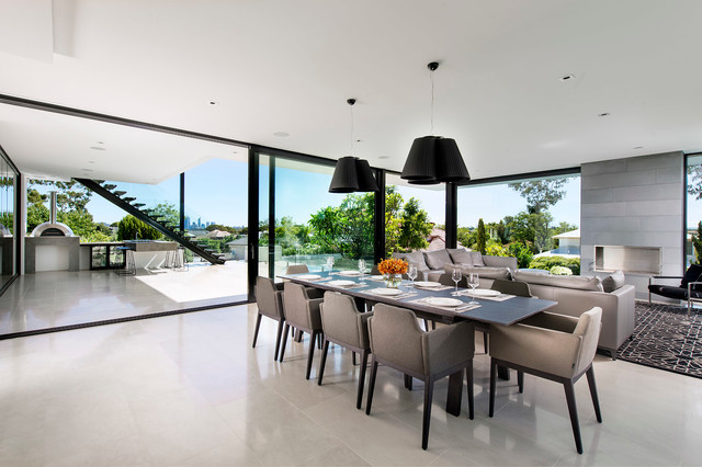 Urbane Projects 001 Contemporary Dining Room Perth By D Max Photography