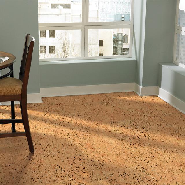 Us Floors Natural Cork Flooring Contemporary Dining Room