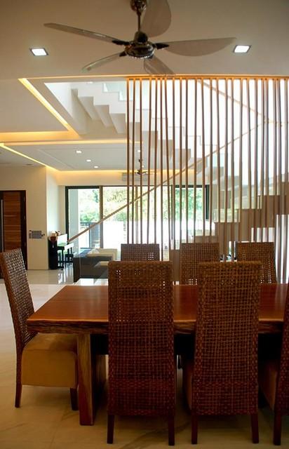 USJ Residence Interior Design Selangor Malaysia Contemporary Dining Room