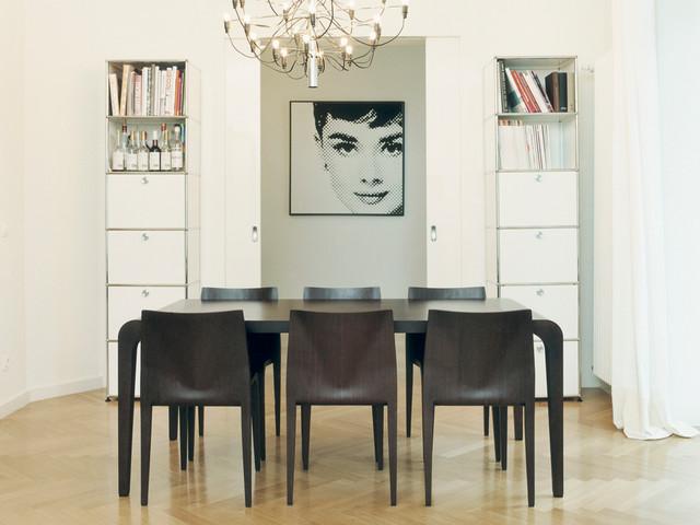 usm modular furniture contemporary dining room