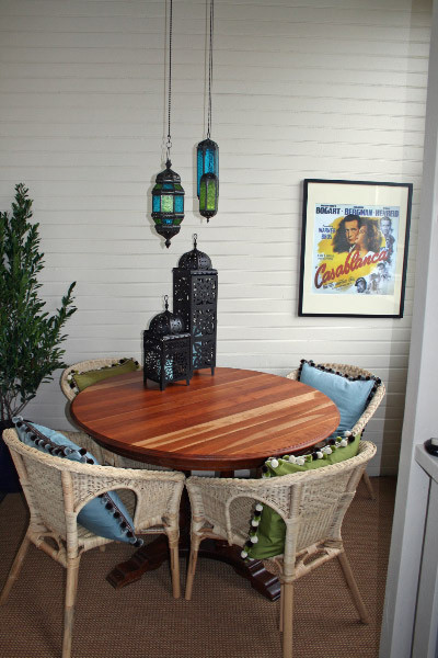 Valerie Wills Interiors eclectic dining room