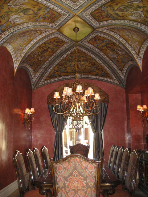 Various Fauxs and Designs traditional-dining-room