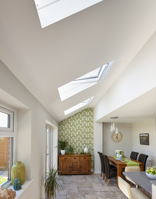 Velux Windows In Home Extensions Contemporary Dining