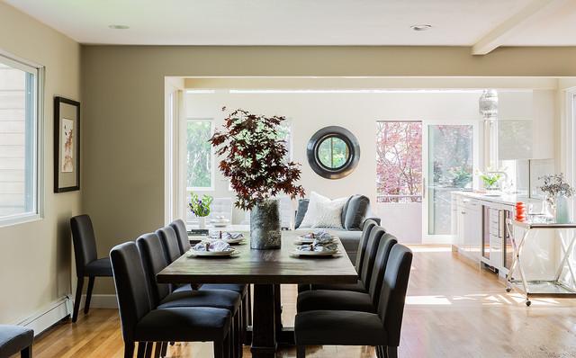 Venegas Newton Residence contemporary-dining-room