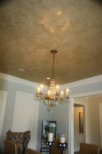 Venetian Plaster Ceiling Finish Faux Finish With Metallic