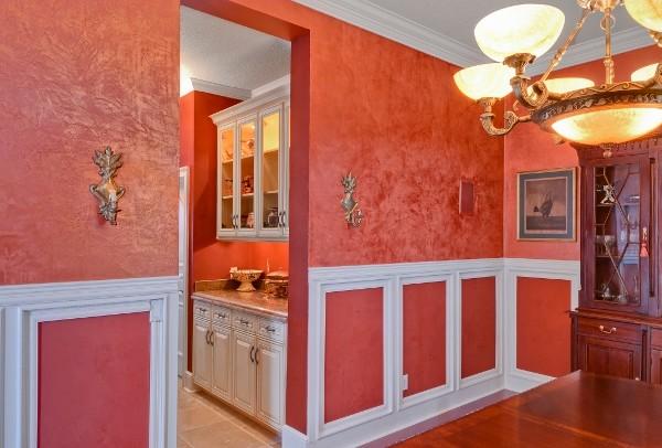 Venetian Plaster traditional-dining-room