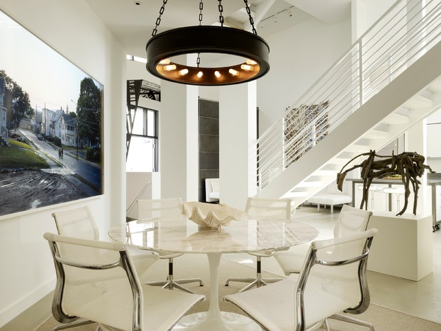 Venice Loft Modern Dining Room Los Angeles By Gary