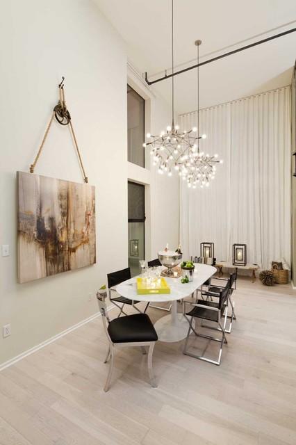 Venice loft contemporary dining room los angeles for Loft dining room ideas