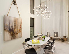 Venice Loft contemporary dining room