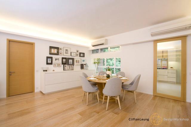 Ventris Place - Elegant Minimalism contemporary-dining-room