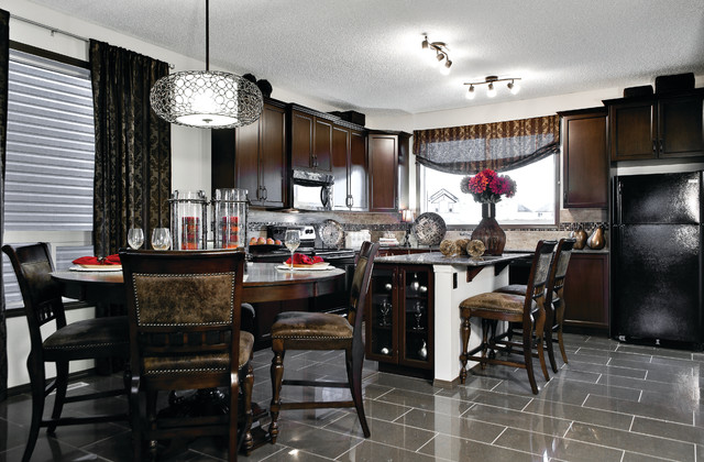 Verve Ii Previous Showhome By Creations Shane Homes Traditional Dining Room