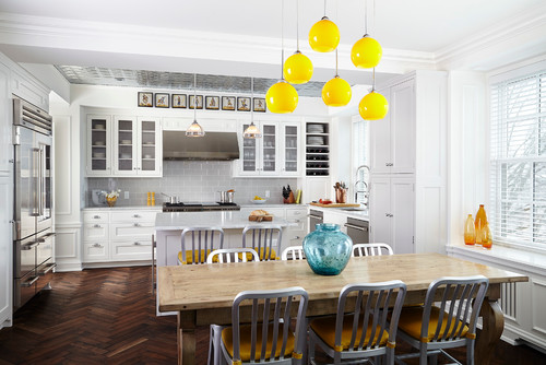 Hire an interior designer for a modern kitchen