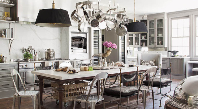 Victor Silva eclectic-dining-room